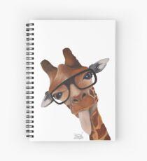 Giraffe Humor Spiral Notebook