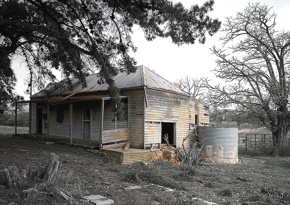 Abandoned House at Wallendbeen by George Petrovsky