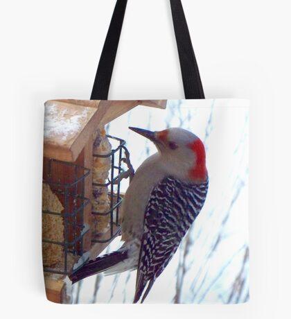 Mrs. Reba Red-Bellied Woodpecker Tote Bag