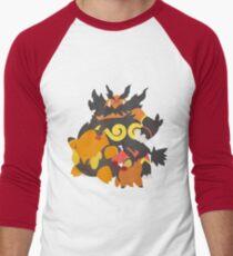 Tepig Evolution Men's Baseball ¾ T-Shirt