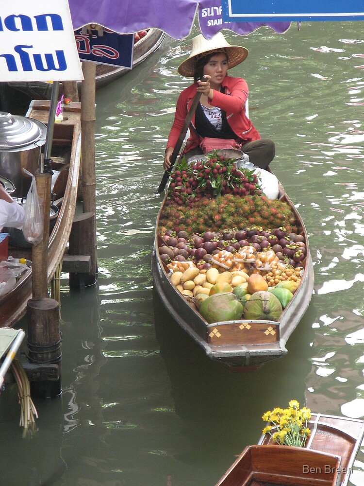 Floating Markets 2, Thailand by Ben Breen