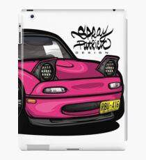 Clay's Mazda Miata PinkEdit '93 iPad Case/Skin