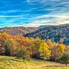 Autumn Evening in West Virginia by Viv Thompson
