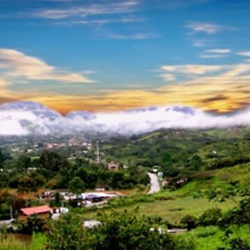 The Valley Of Longevity, Vilcabamba, Ecuador II Panorama by alabca