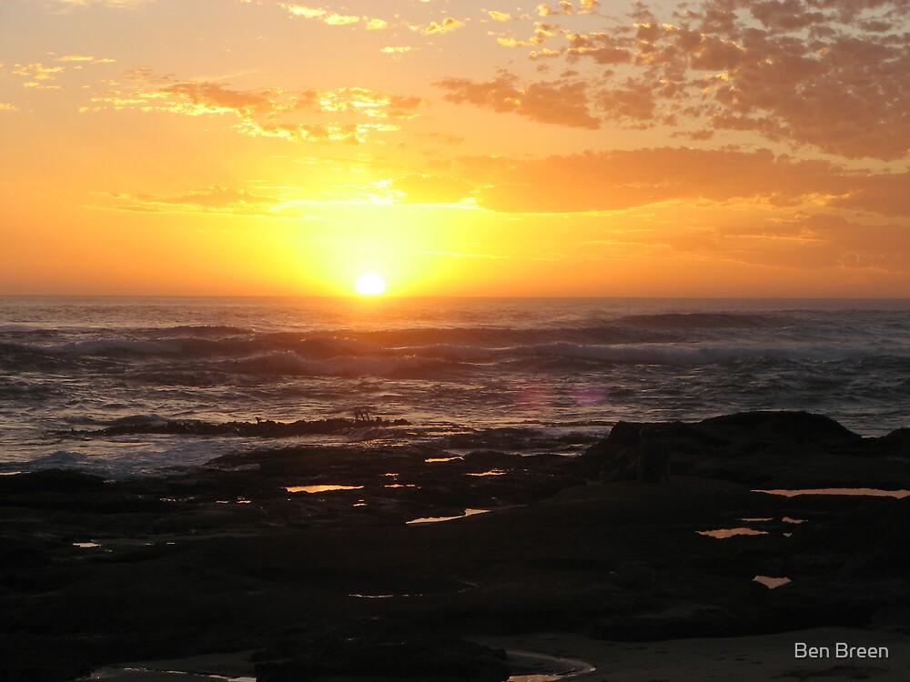 Sunset at Johanna, Aus by Ben Breen