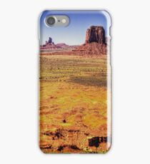 Monument Valley from Artist's Point iPhone Case/Skin