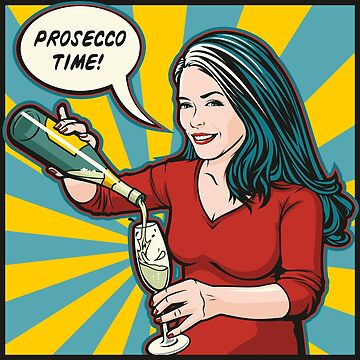Prosecco Time by jamieleeart