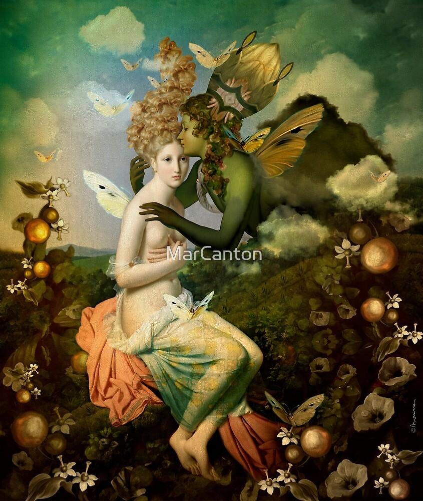 "«""The body, the soul and the garden of love""» de MarCanton"