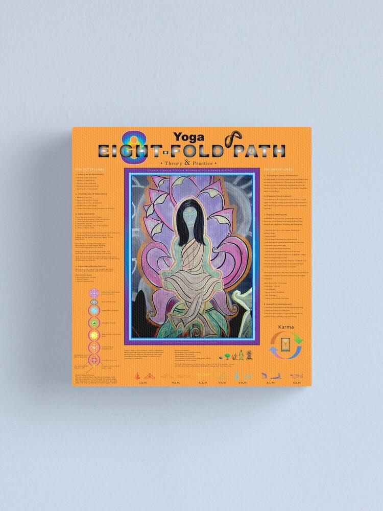 Alternate view of Kriya Yoga: 8-Fold Path: Theory and Practice Canvas Print