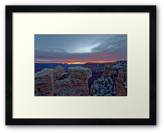 Grand Canyon Grand Sunrise by photosbyflood