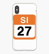 SI-27 Higashi-Hanno Station, Seibu Ikebukuro Line (SI)   Tokyo Japan Transit Icons iPhone-Hülle & Cover