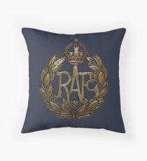 RAF Cap Badge Throw Pillow