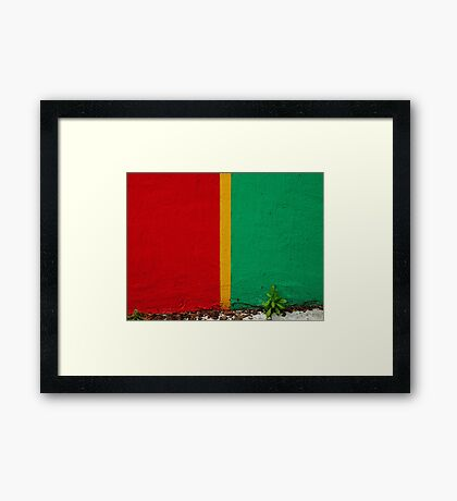 In so many different ways Framed Print