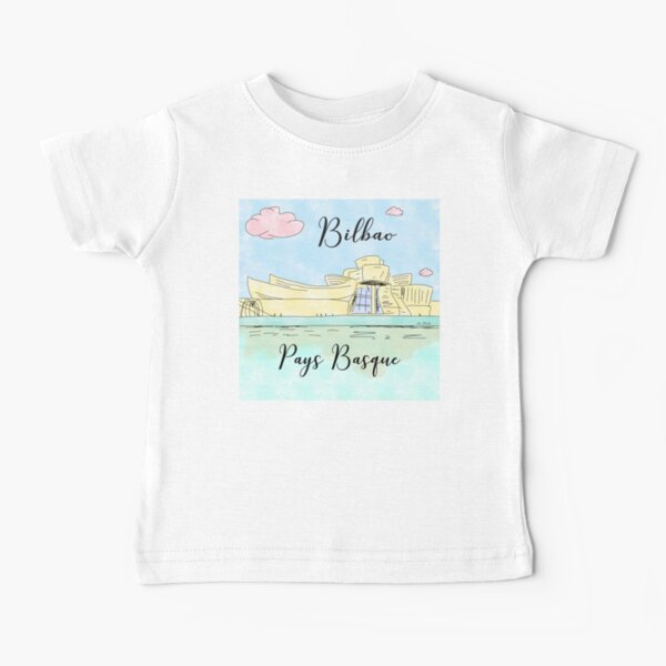 Bilbao Pays Basque by Alice Monber Baby T-Shirt