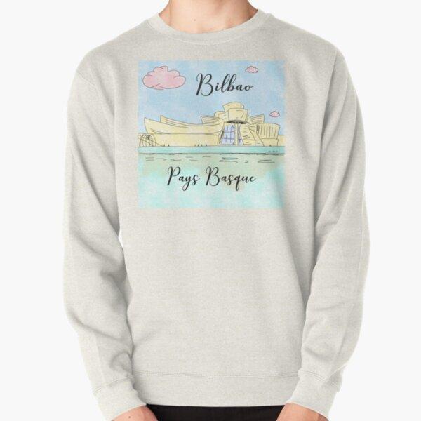 Bilbao Pays Basque by Alice Monber Pullover Sweatshirt