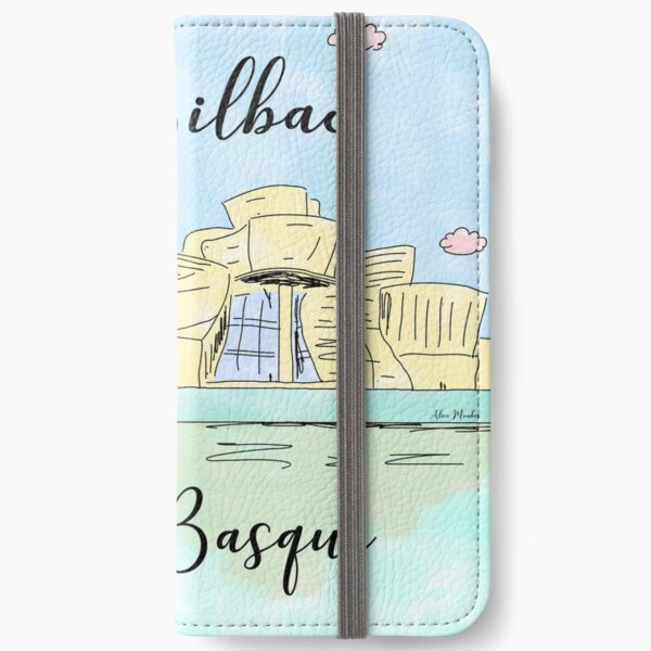Bilbao Pays Basque by Alice Monber iPhone Wallet