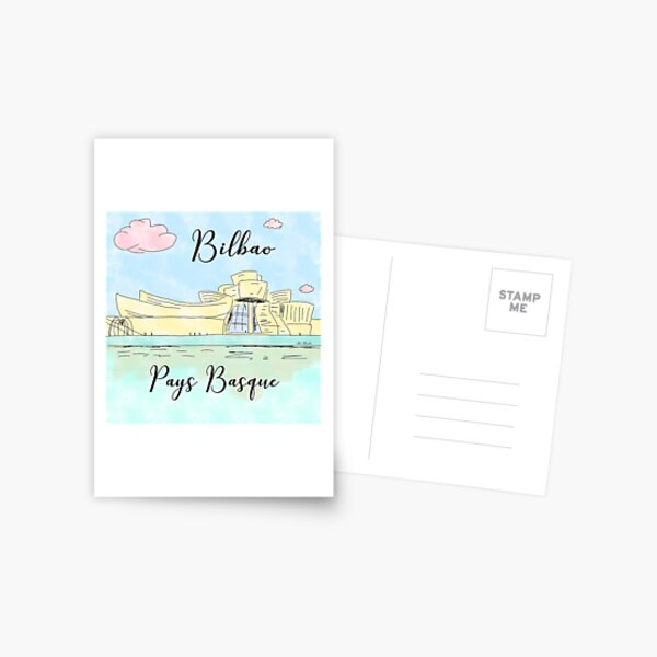Bilbao Pays Basque by Alice Monber Postcard