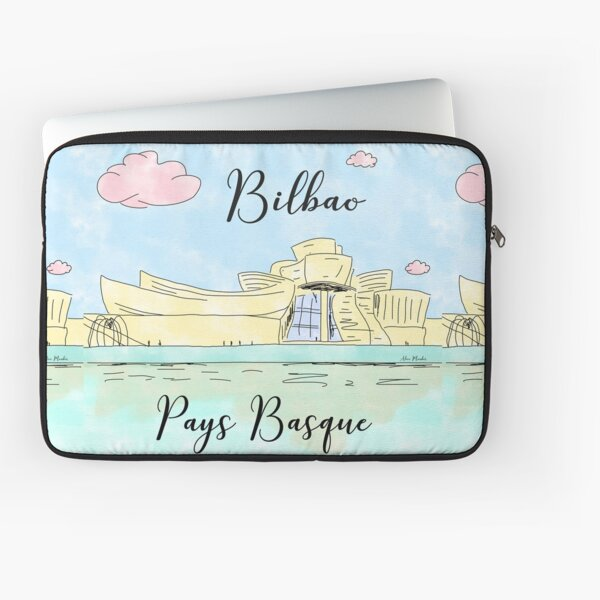 Bilbao Pays Basque by Alice Monber Laptop Sleeve