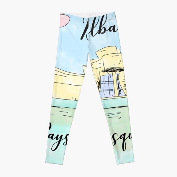 Bilbao Pays Basque by Alice Monber Leggings