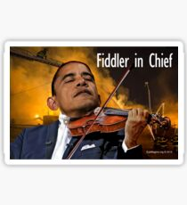 Fiddler in Chief Sticker