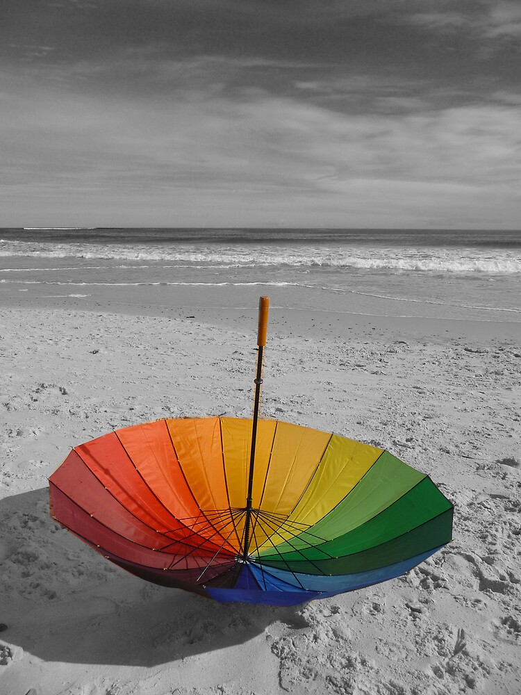 Beach Umbrella by TinaMartin