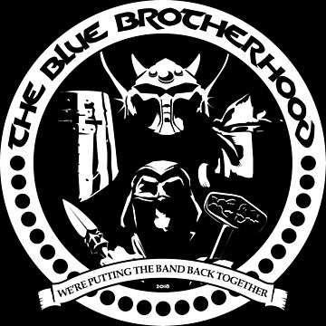 The Blue Brotherhood 2018 (One Color) by SnakeEyes0217
