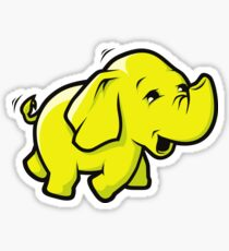 Hadoop Elephant Sticker