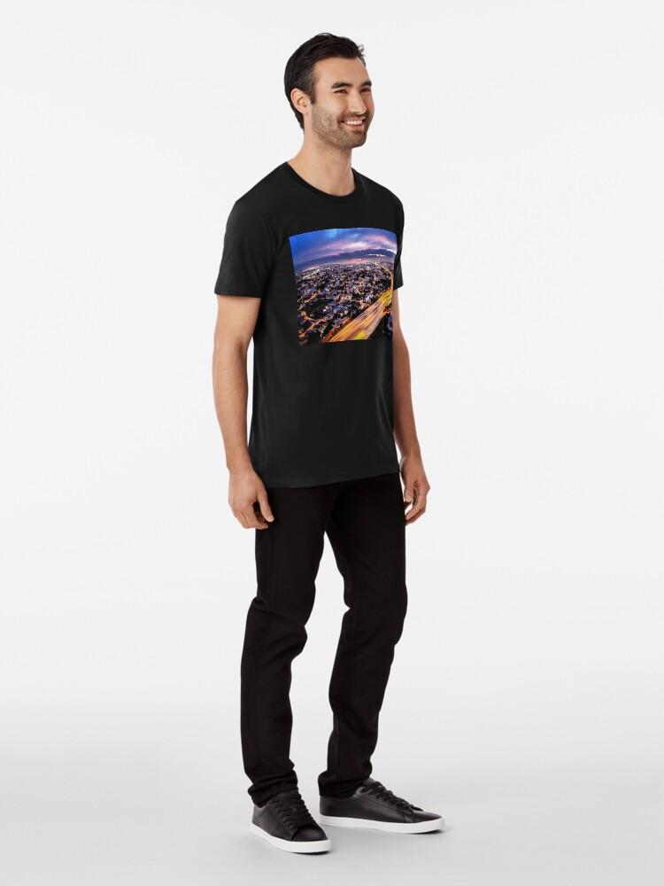 Alternate view of City Lights Premium T-Shirt