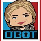 Hillary Politico'bot Toy Robot 3.0 by Carbon-Fibre Media