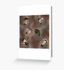 wee walkers! Greeting Card