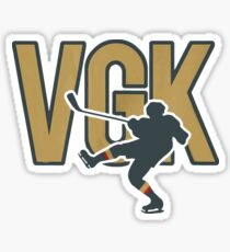 VGK Ice Hockey Golden Player Sticker