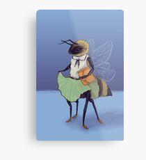 Preppy Bee Metal Print