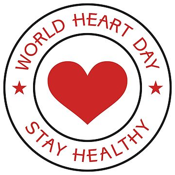 World heart day - stay healthy by urbania