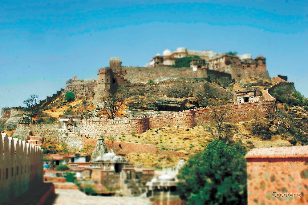 Miniature Effect of Kumbalgarh Fort near Udaipur, India Part 3 by Scootarts