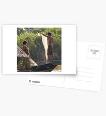 peoplescapes #19, the net Postcards