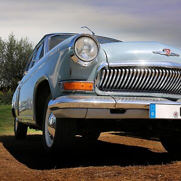 volga, russian classic car - GAZ 21 by hottehue