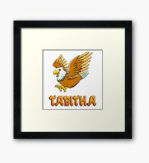 Tabitha Eagle Sticker Framed Print