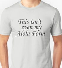 Pokemon: Alola Form Unisex T-Shirt