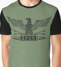 Roman Republic Legion Eagle Graphic T-Shirt
