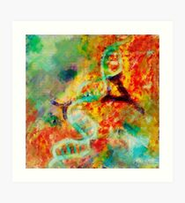 Double stranded decay Art Print