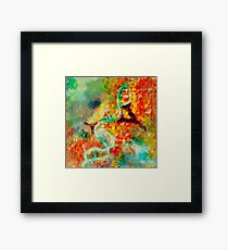 Double stranded decay Framed Print