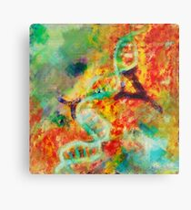 Double stranded decay Metal Print