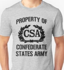 Property of Confederate States Army Unisex T-Shirt