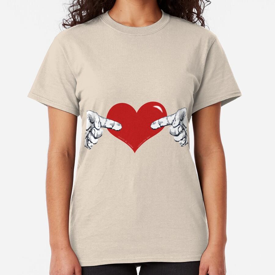 punto al cuore Classic T-Shirt