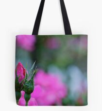 """""""In your heart, keep one still secret spot where dreams may go and be sheltered so they may thrive and grow.""""  Tote Bag"""