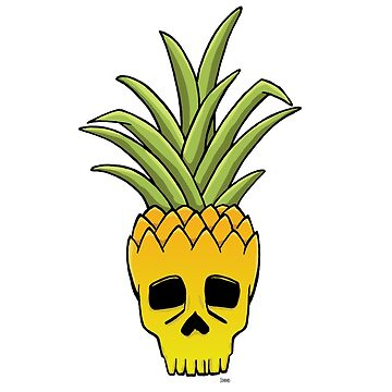 Pineapple Skull by ElJimmo