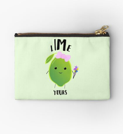 LIME yours Zipper Pouch
