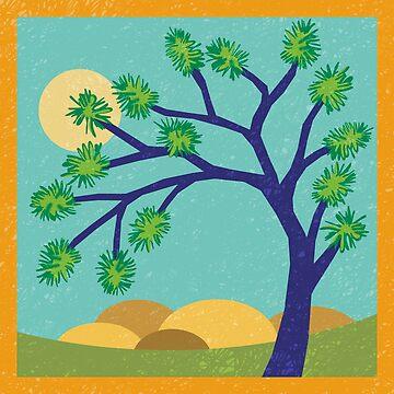Joshua Tree - Peaceful Easy Feeling by challisandroos