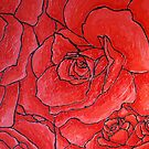 red roses by Applemint