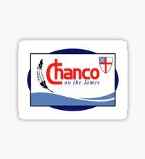 Chanco logo Sticker